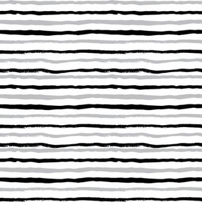grey and black painted stripes stripe kids nursery baby boys