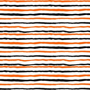 halloween stripes orange and black fall halloween fabric