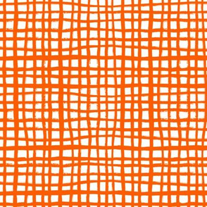 orange grid painted stripes kids halloween costume halloween fabric