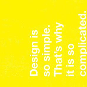 Graphic Design Tea Towel - Y - Paul Rand