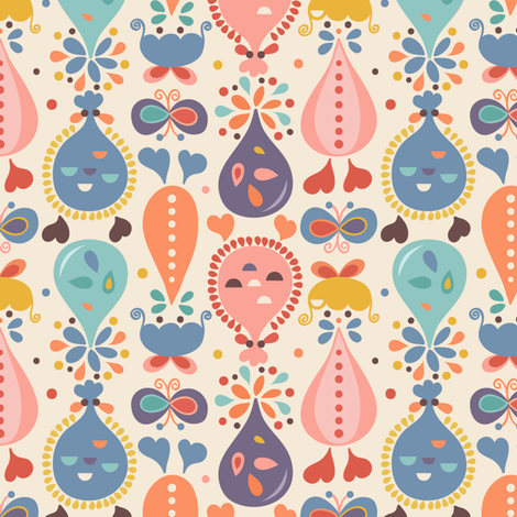 Fifi fabric by la_fabriken on Spoonflower - custom fabric