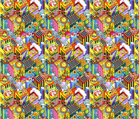 Inner_Max_Double_Take fabric by julistyle on Spoonflower - custom fabric