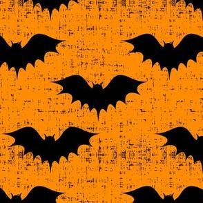bats on orange