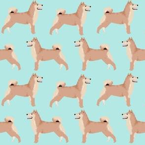 shiba inu sweet mint dog dogs Japanese dogs fabric cute shiba inu dog