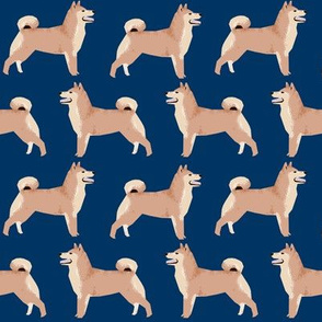shiba inu dog cute dogs navy blue dog fabric pet dog shiba inu Japanese dog fabric doge