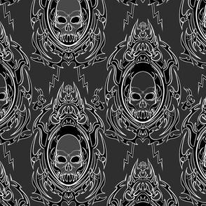 Gothic Vampire Skull 3