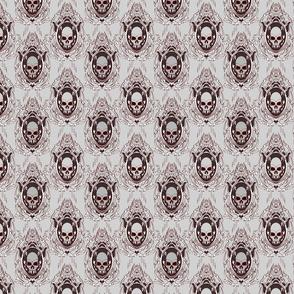Gothic Vampire Skull 4