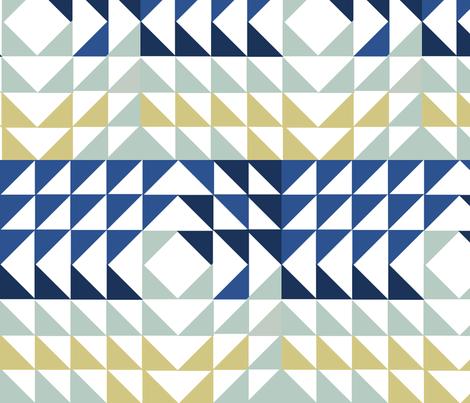 tri-angled_2 fabric by buckwoodsdesignco on Spoonflower - custom fabric
