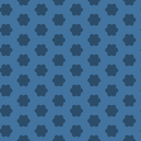 Little Blue Flowers fabric by blue_dog_decorating on Spoonflower - custom fabric