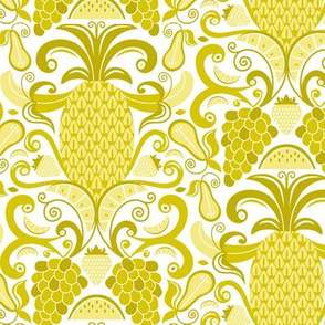 Ambrosia - Fruit Damask Pineapple Yellow Gold