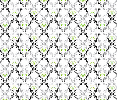music in the air fabric by erijoyjoy on Spoonflower - custom fabric