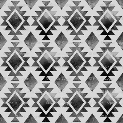 Native American Diamond Design