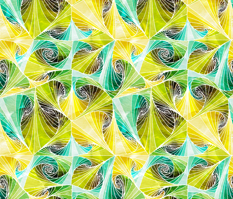 Tropical Tree fabric by honey_gherkin on Spoonflower - custom fabric