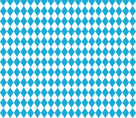 German Oktoberfest Beer Blue Diamond Pattern fabric by khaus on Spoonflower - custom fabric
