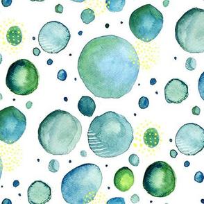 Bubbles Watercolor