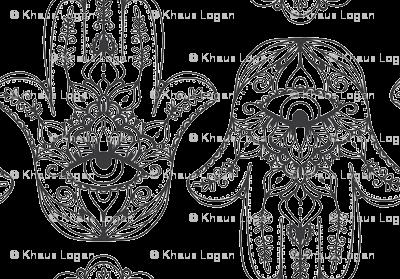 Indian Henna Design Black And White Indian Henna Design Purple