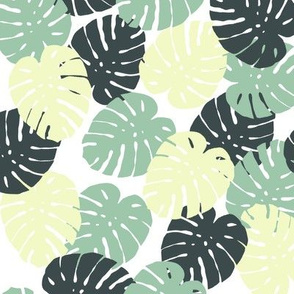 Hawaiian Palm Print