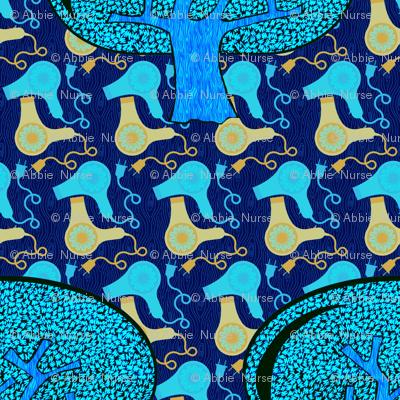Forrest blow blue