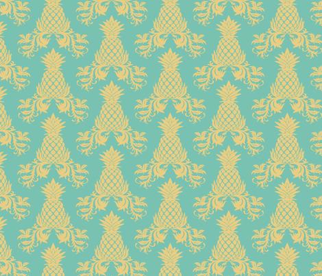 Mango Pineapple Wrap fabric by saundie on Spoonflower - custom fabric