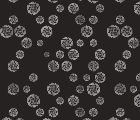 Field Of Roses fabric by thecharmingneedle on Spoonflower - custom fabric
