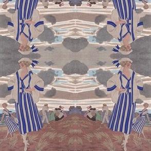1920s Art Deco Ladies