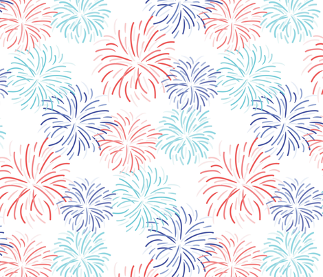 SS2017-0084-Fireworks-_REPEAT-03-03 fabric by tresbondesign on Spoonflower - custom fabric