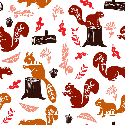 squirrels // nature fall woodland forest kids fall autumn oak acorns leaves leaf cute sweet critters