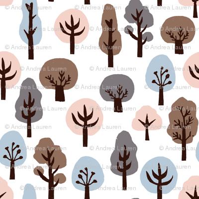 fall trees // autumn soft colors kids khaki baby nursery sweet fall autumn nature trees woodland forest