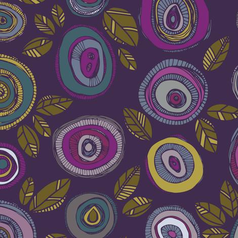 Floral Onion fabric by tiffanyheiger on Spoonflower - custom fabric