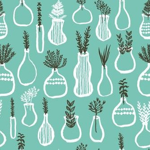 planters // plants green thumb vases plants design green herbs