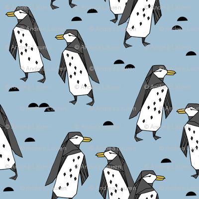 penguins // penguin pingu winter bird antarctic kids cute bird design