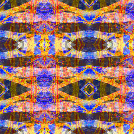 Abstract Tree Crossing fabric by chinaberries_studio on Spoonflower - custom fabric