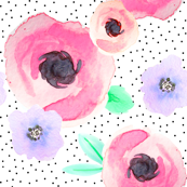 Indy Bloom Design Polka Floral