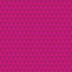 Fuchsia Triangles