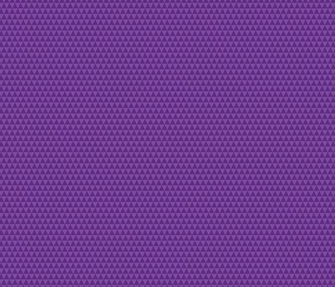 Purple Triangles fabric by surlysheep on Spoonflower - custom fabric