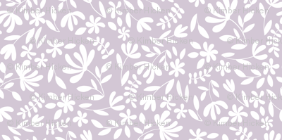 Small Lilac Floral