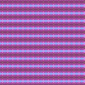 Hot Pink Bougainvillea Stripe
