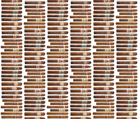 Cigar Stacks fabric by thinlinetextiles on Spoonflower - custom fabric