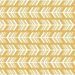 Arrow Fletching // Harvest Gold