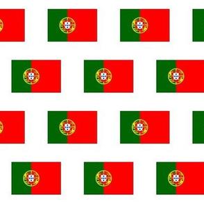 Portuguese Flag // Small