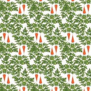 Easter Carrots Vegetable Food Green Leaf Leaves Rabbit_Miss Chiff Designs