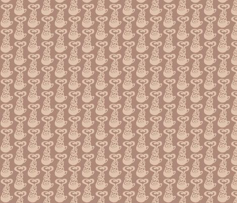 Earl Grey Tea Love (small) fabric by art_rat on Spoonflower - custom fabric