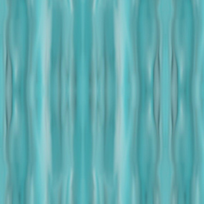 Aqua Ocean Waves Stripe Pattern