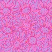 Sunflowers - Pink