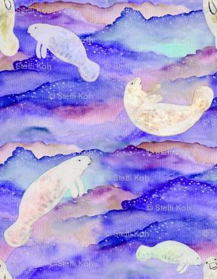 Rrrrrdark_watercolour_half_tile_backdrop_with_light_manatees_150dpi_preview