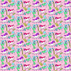 mermaids versus unicorns