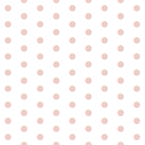 "1/3"" polka dot - blush on white fabric by sugarpinedesign on Spoonflower - custom fabric"