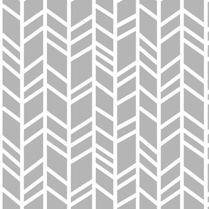 Herringbone- Evenstar Grey