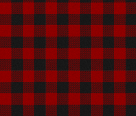 Clan MacGregor - Red & Black Tartan fabric by thinlinetextiles on Spoonflower - custom fabric
