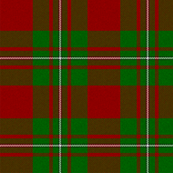 MacGregor Red and Green Tartan